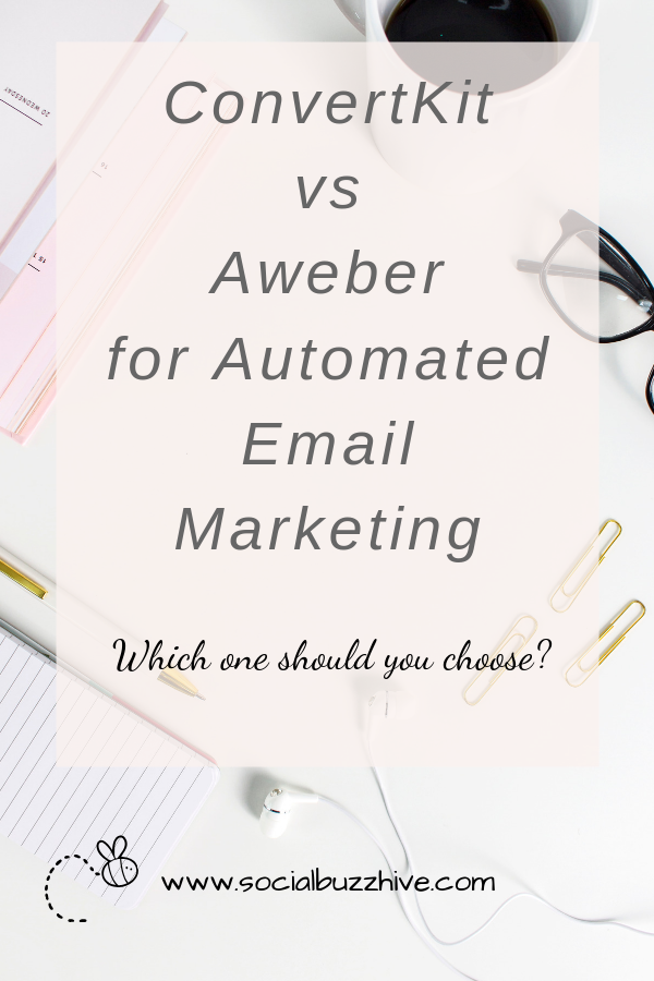 convertkit vs aweber for automated email marketing