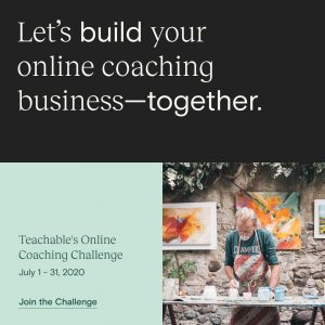 teachable online coaching challenge