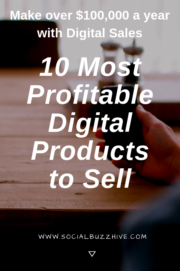 10 Most profitable digital products to sell online