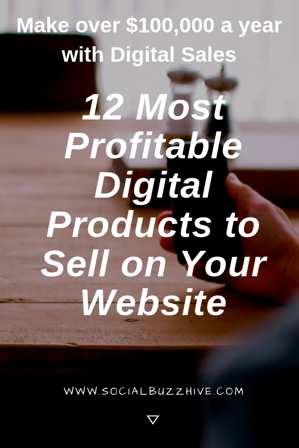 12 Most profitable digital products to sell online