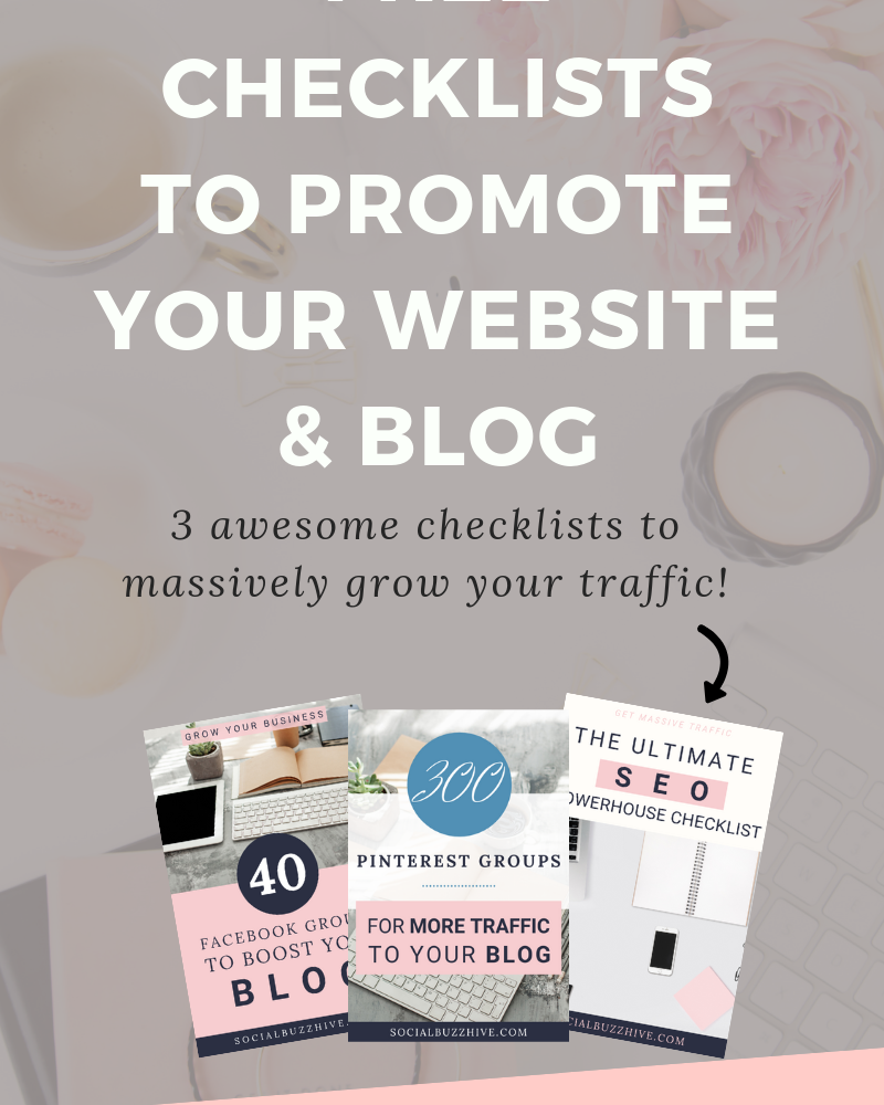 Ultimate Checklists To Promote Your Website or Blog