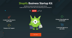 Shopify business start up