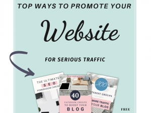 to ways to promote your website or blog