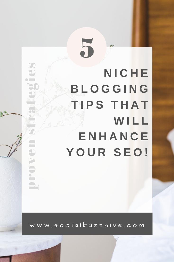 5 niche blogging tips