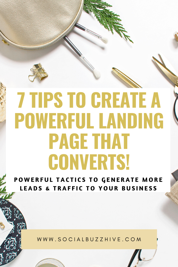 7 tips to create a powerful landing page