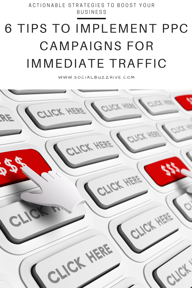 ppc campaign tips for traffic