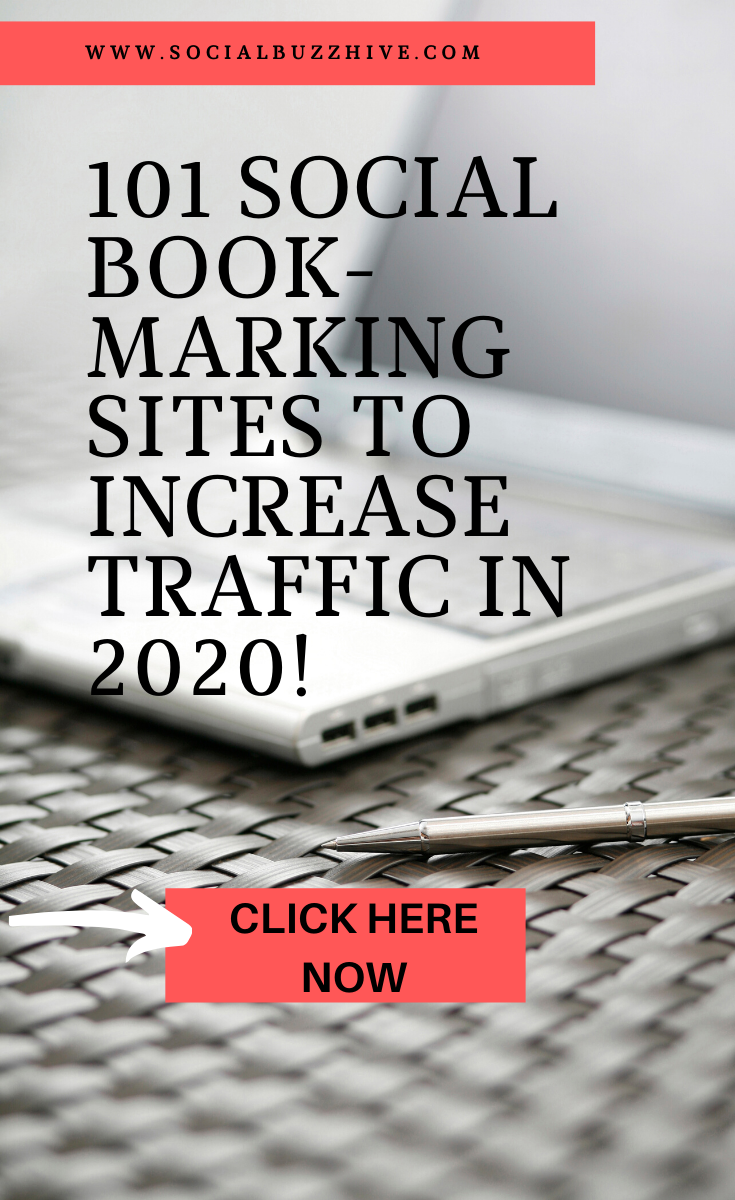101 social bookmarking sites to increase traffic in 2020