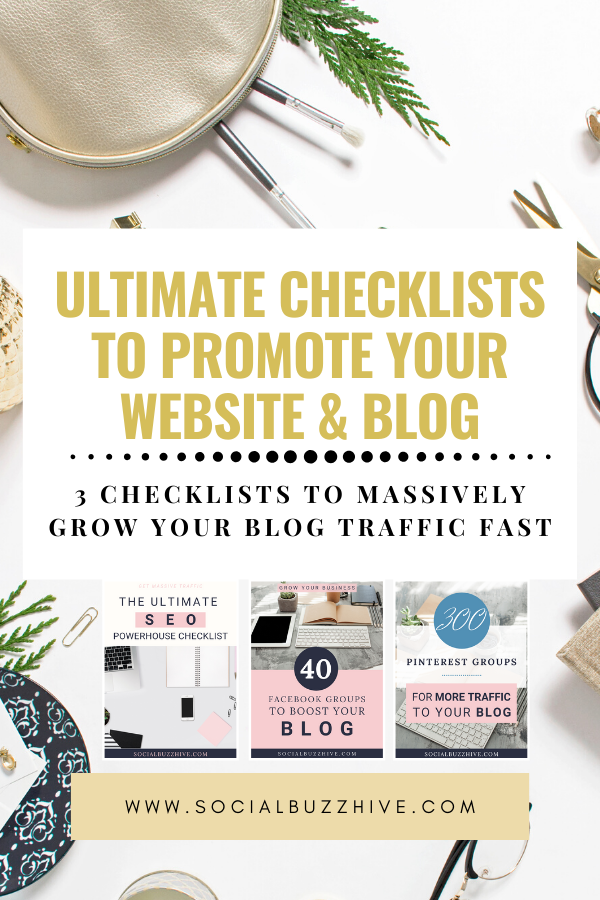 ultimate checklist to promote your blog in 2020