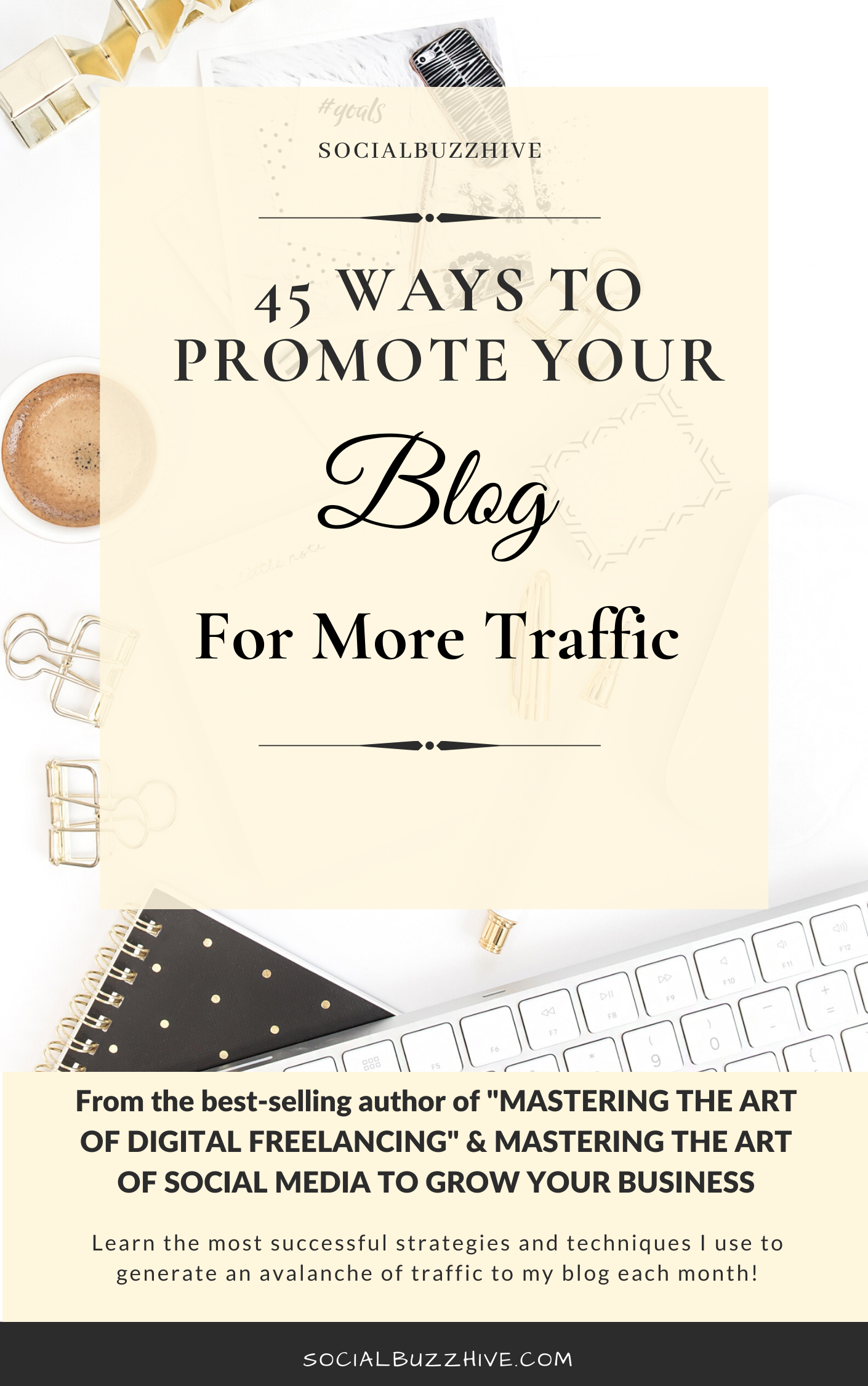 45 ways to promote your blog