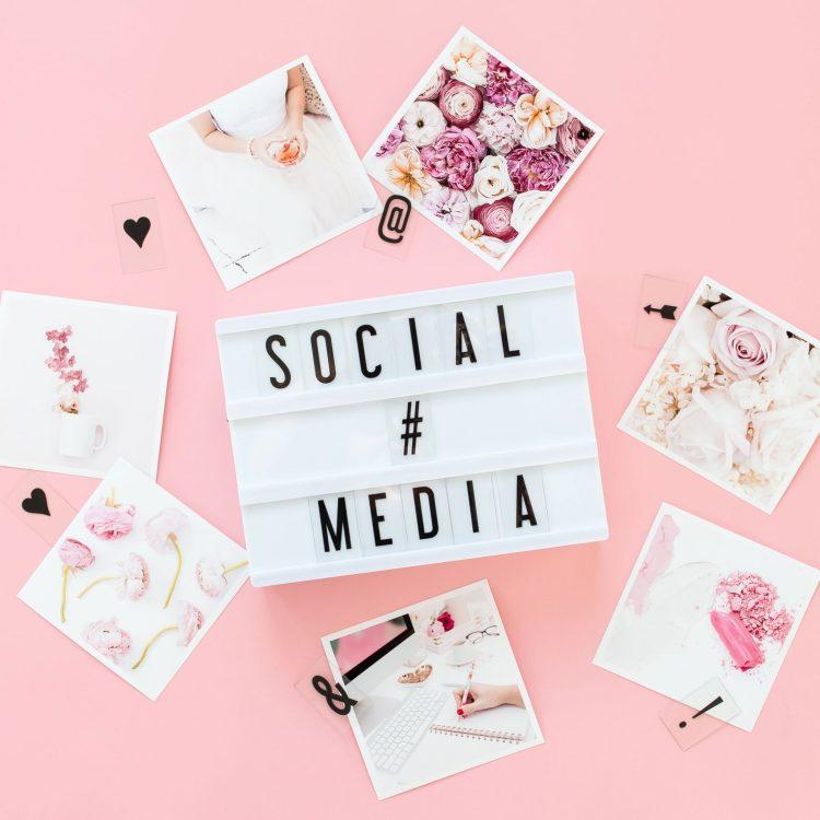 Social media post graphics