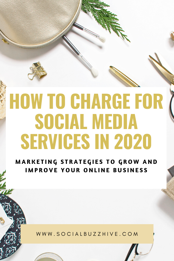 how to charge for social media in 2020