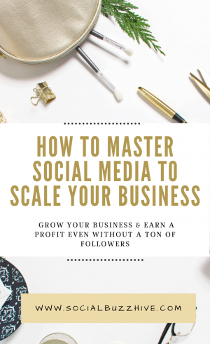 scale your business with social media