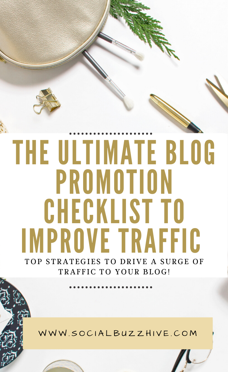 ultimate blog promo checklist for 2020