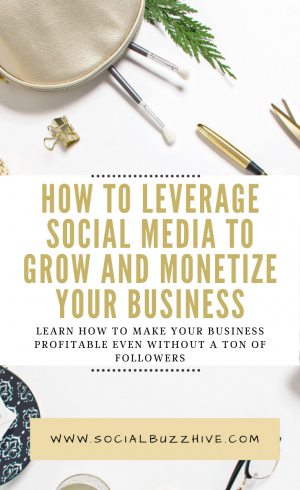 leverage social media to grow and monetize your business