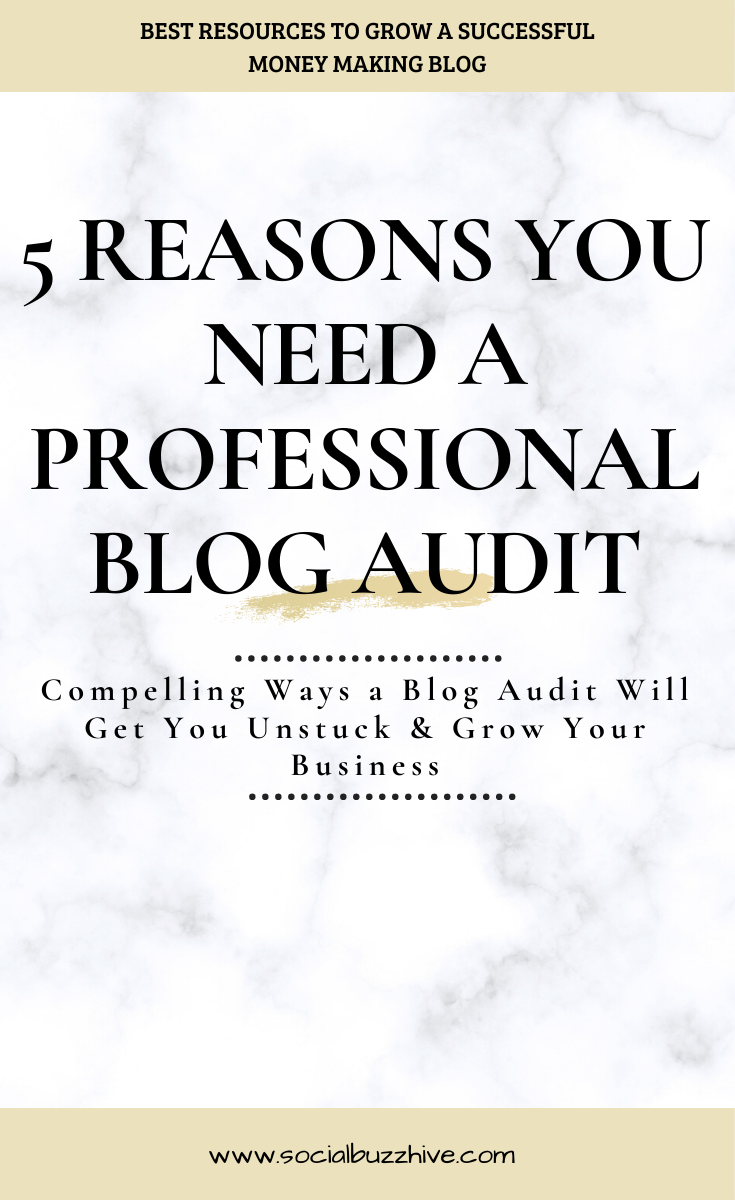 5 reasons you need a blog audit