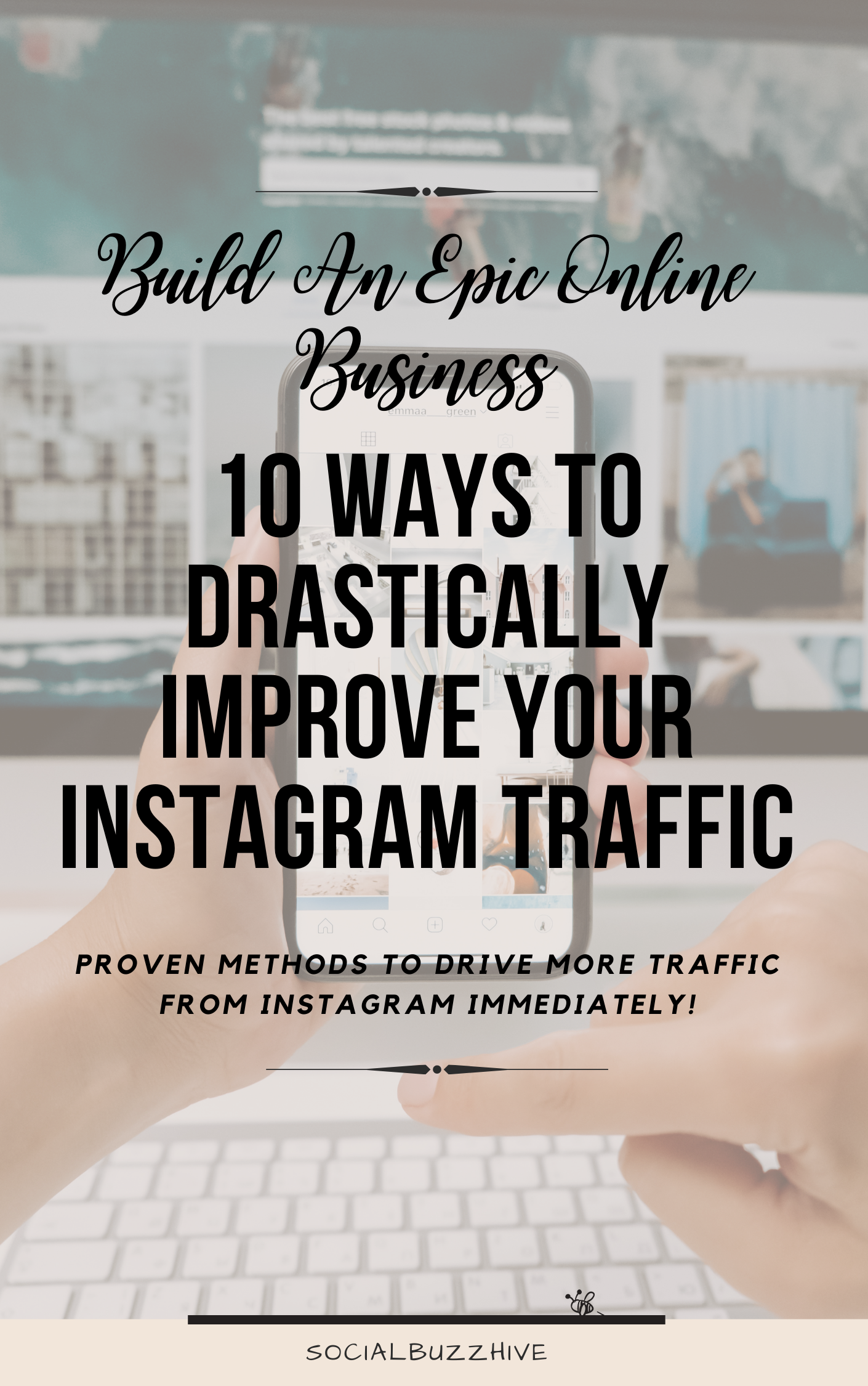 how to dramatically improve instagram traffic
