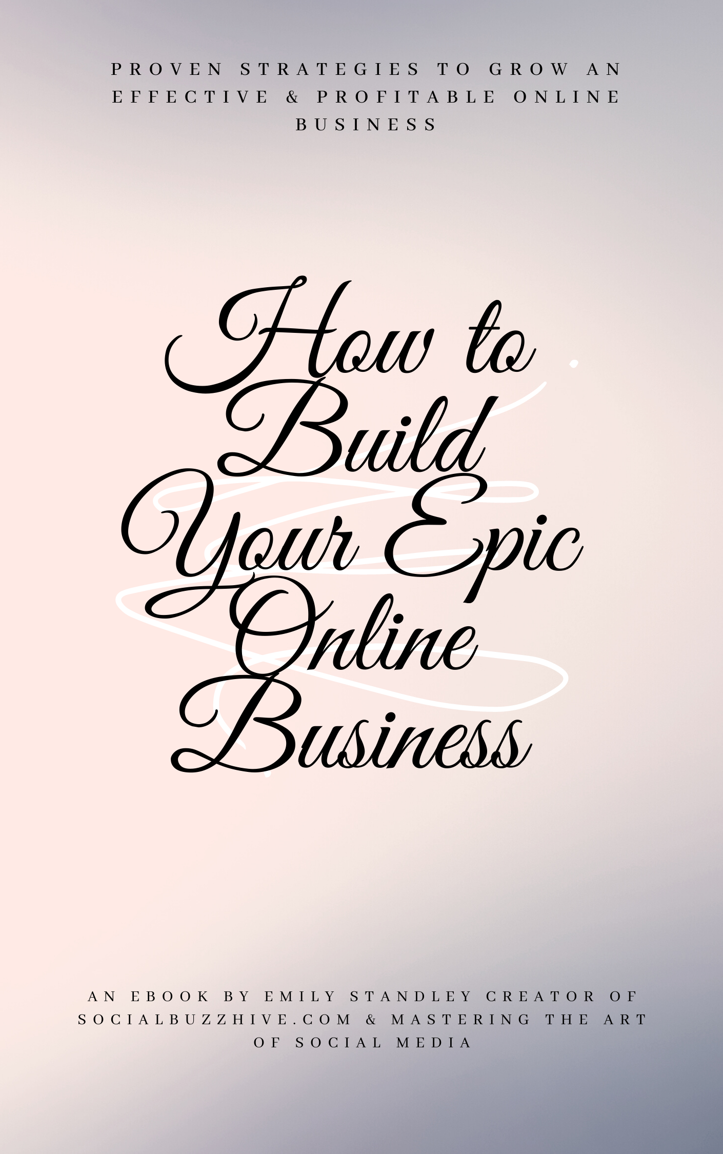 how to build your epic online business