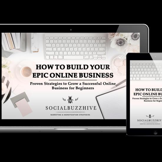 build your epic online business