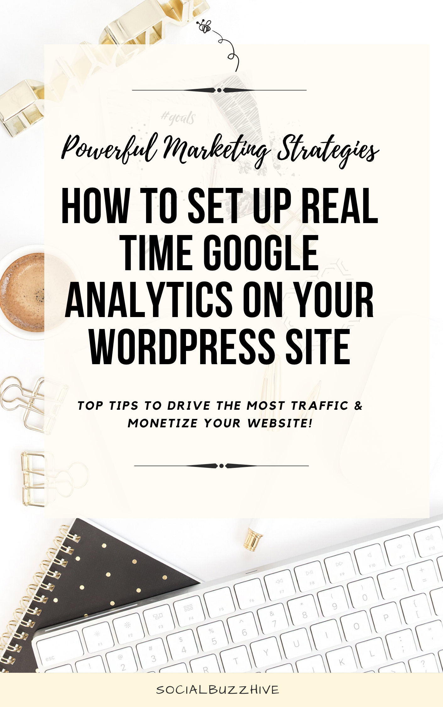how to set up real time google analytics on your wordpress site