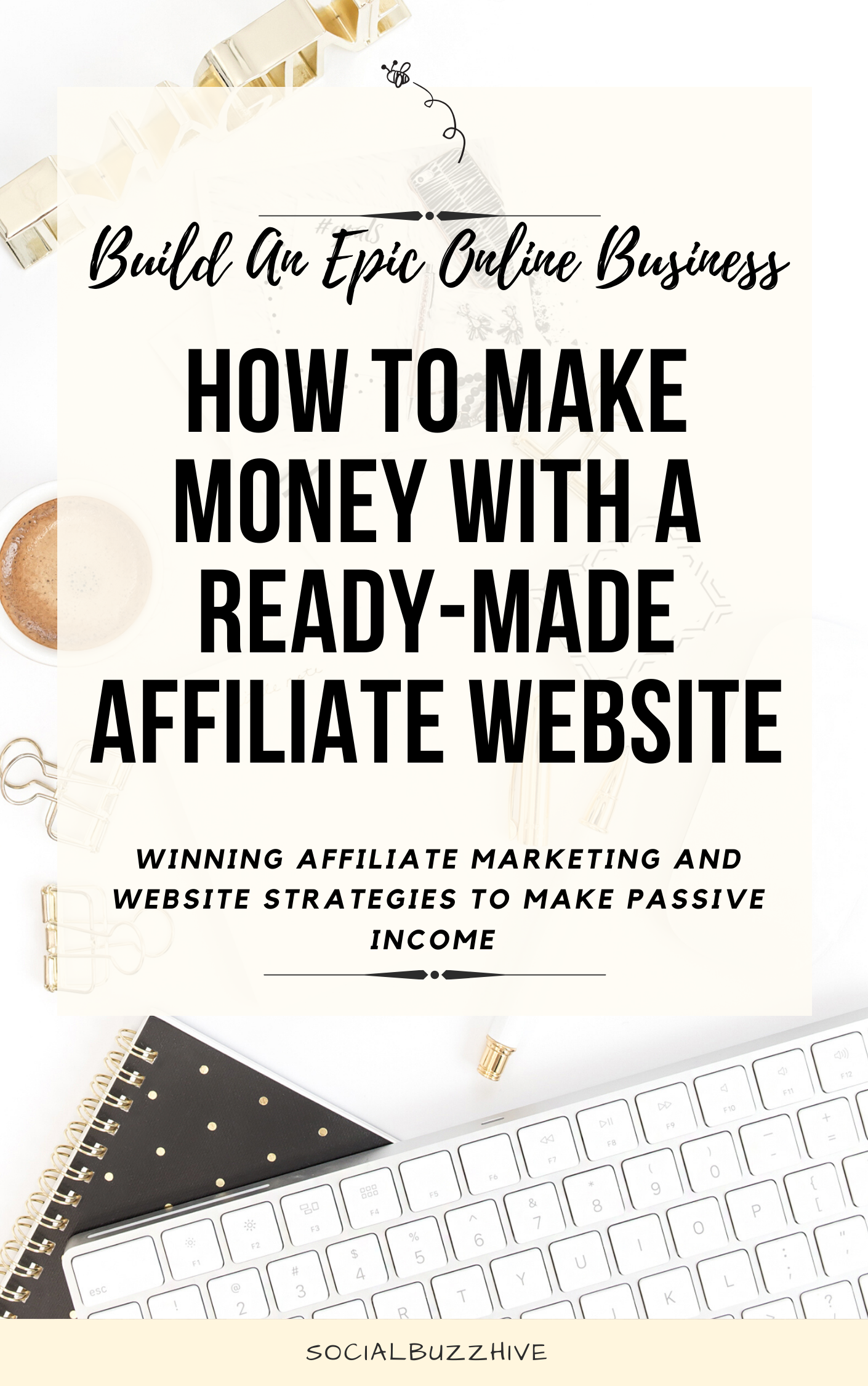 make money with a ready made website