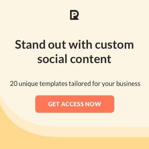 custom social content