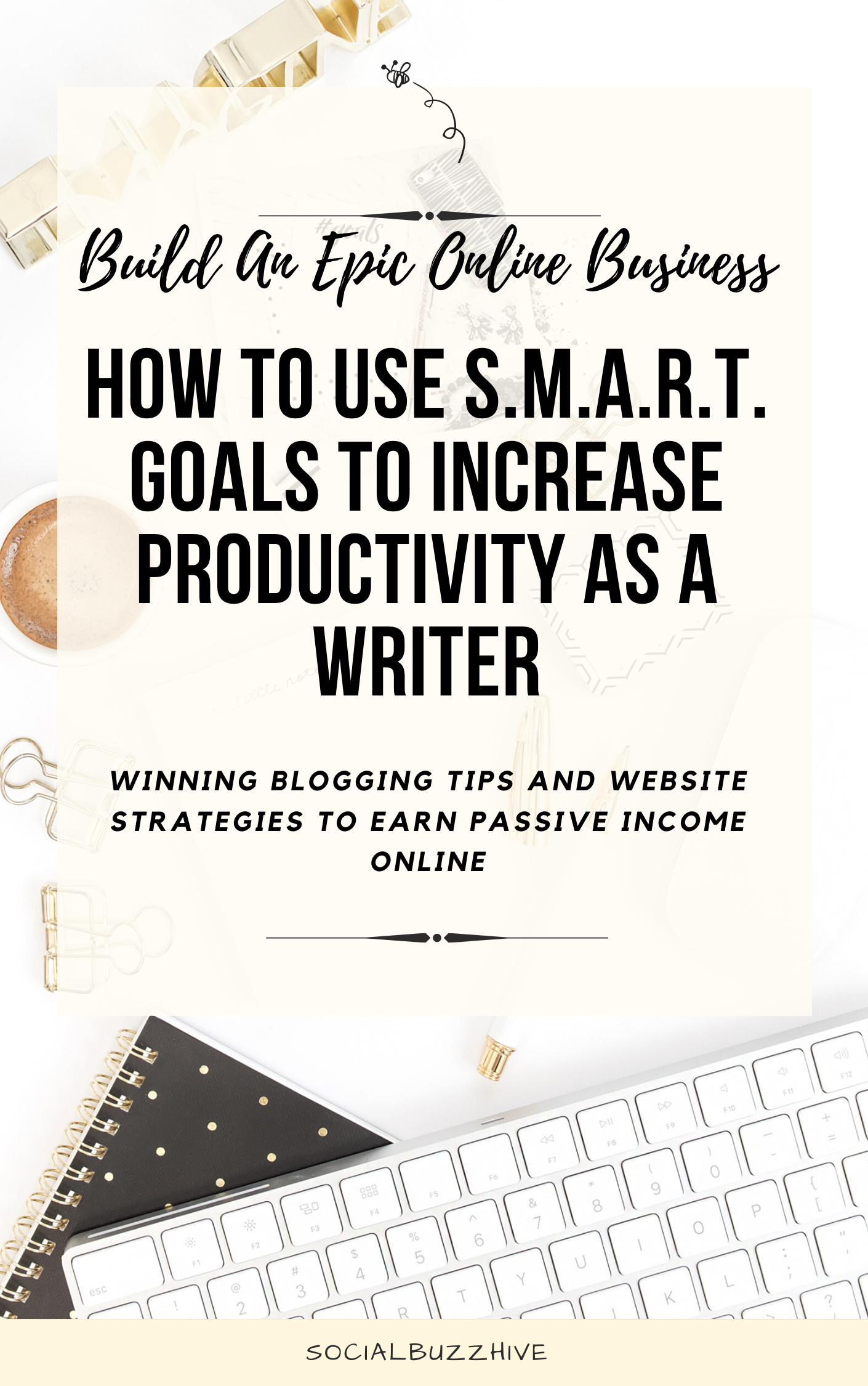 how to use smart goals to increase productivity as a writer