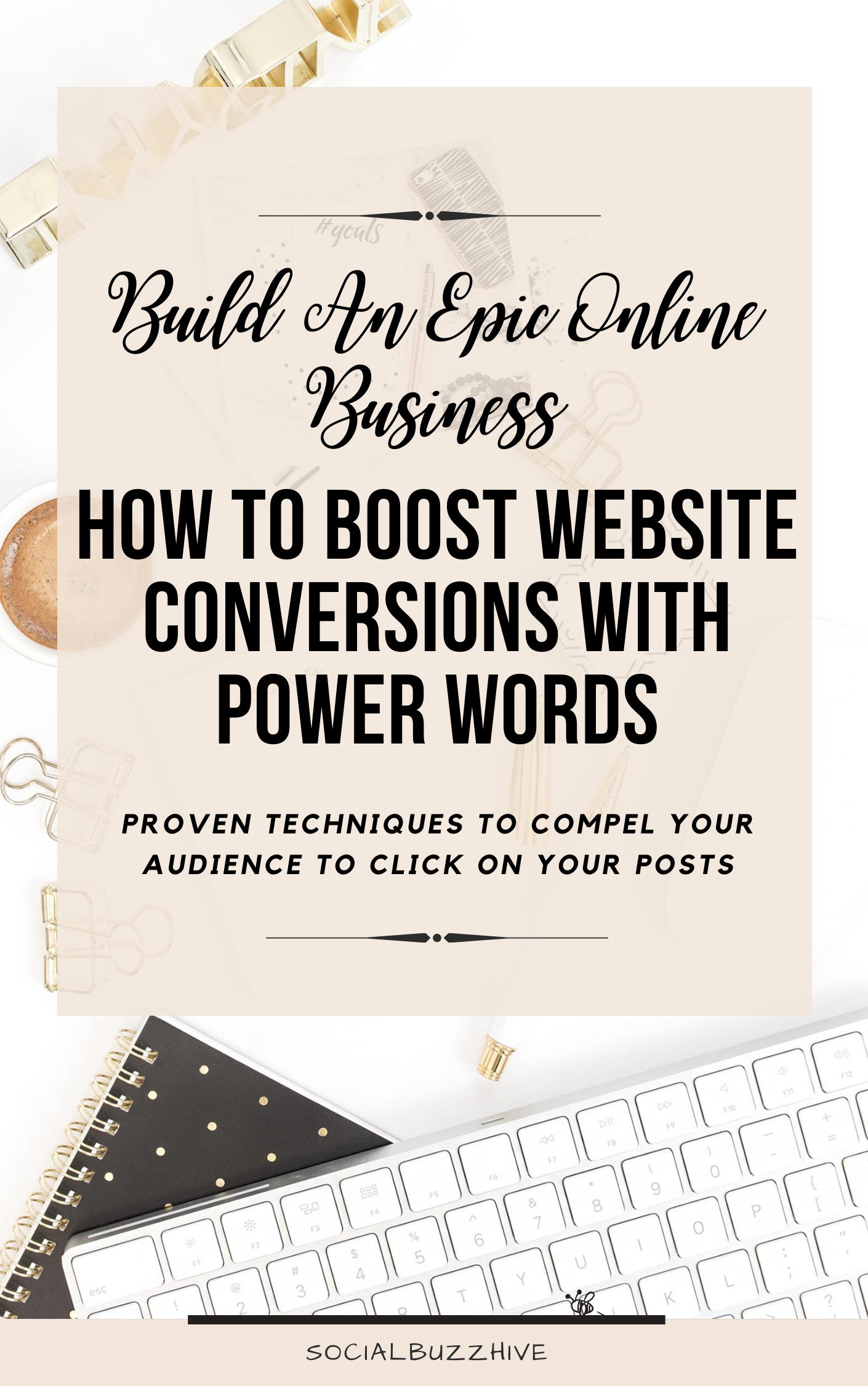 how to boost website conversions with power words