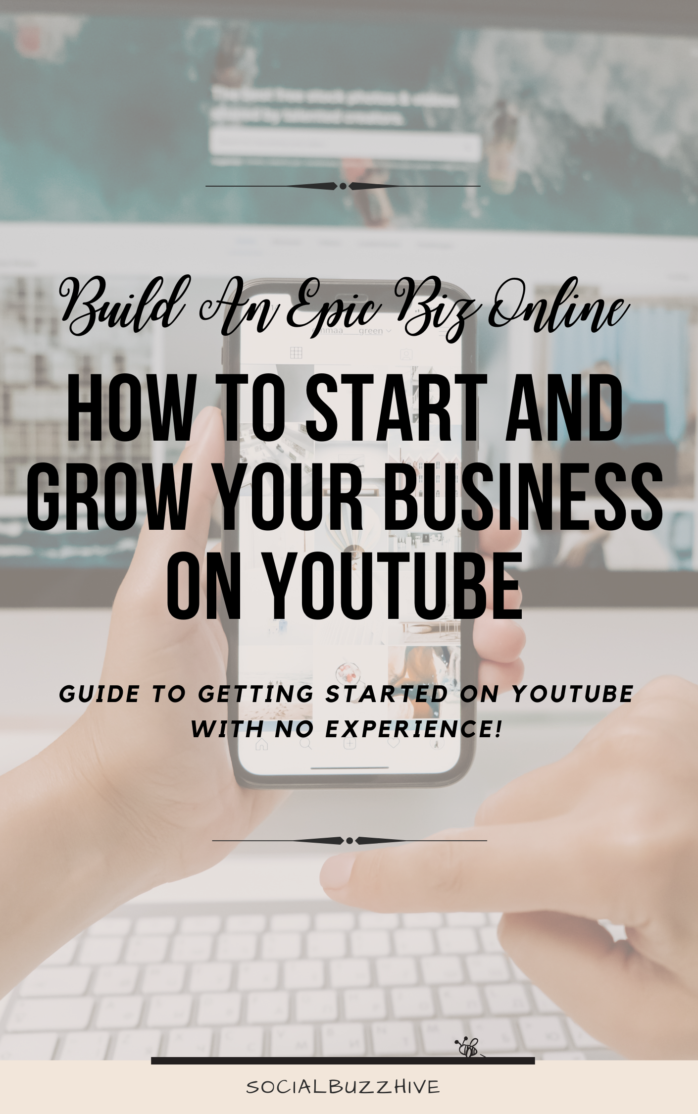 how to start your biz on you tube