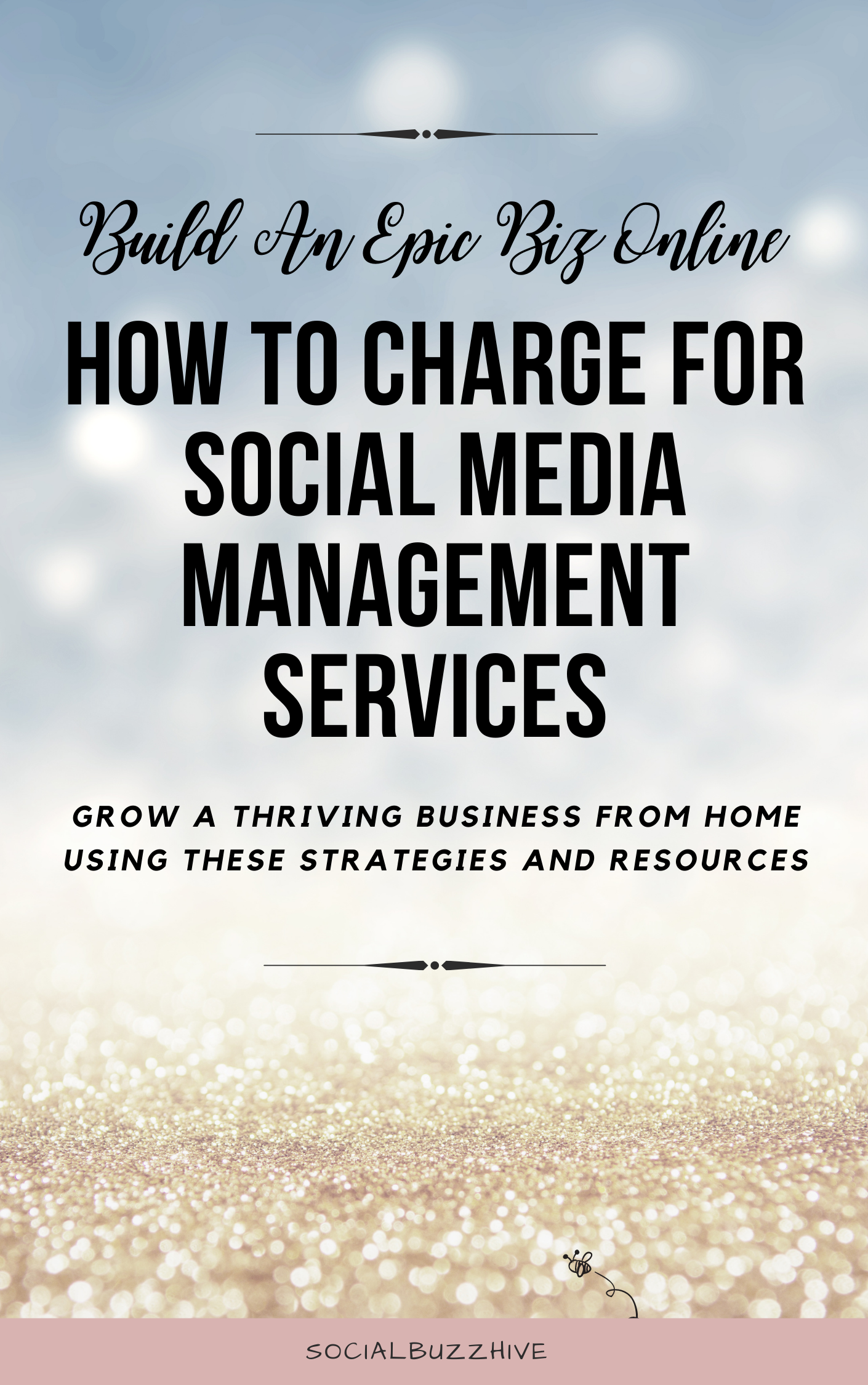 how to charge for social media management services