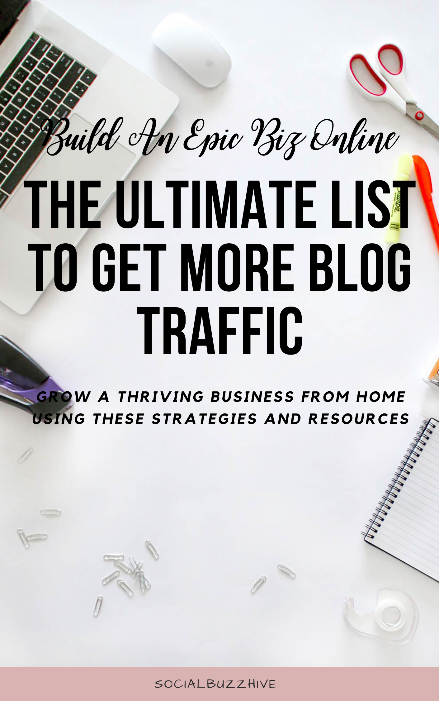 ultimate list to get more blog traffic