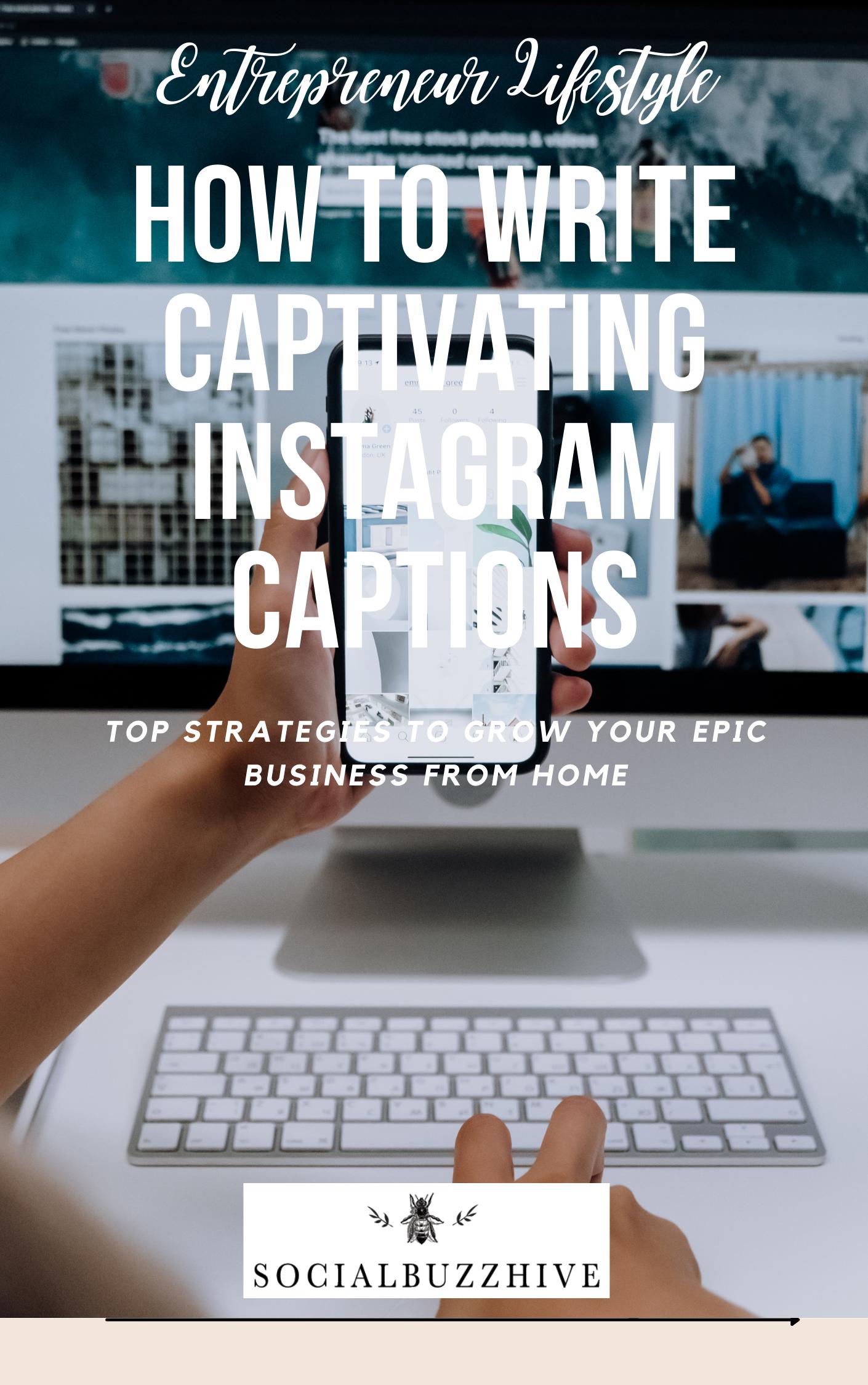 how to write instagram captions