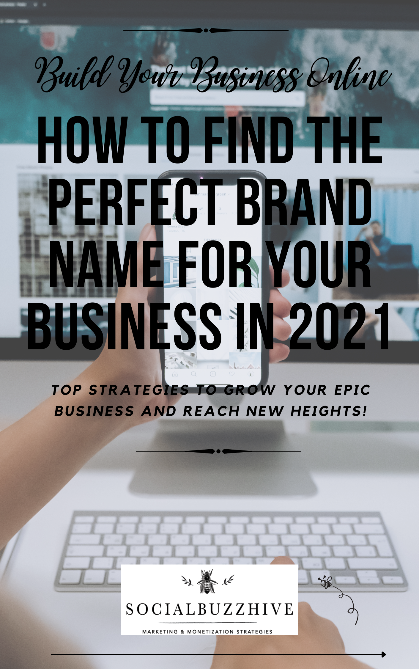 FIND THE PERFECT BRAND NAME FOR YOUR BUSINESS