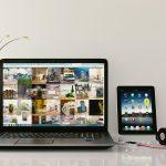 laptop ipad online business tools